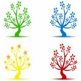 Art trees Royalty Free Stock Image