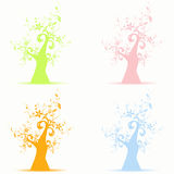 Art trees Royalty Free Stock Photography