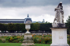 Art in Tuileries garden,Paris,France. Medee statue (by Jean Baptiste Gasq) in Tuileries garden,Paris,France Stock Image