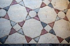 Art turc de tabouret avec les modèles géométriques Image stock