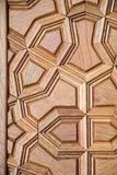 Art turc de tabouret avec les modèles géométriques Photographie stock