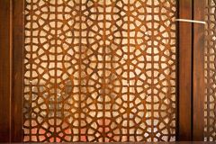 Art turc de tabouret avec les modèles géométriques Photo libre de droits