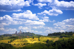 Art tuscany Royalty Free Stock Photos