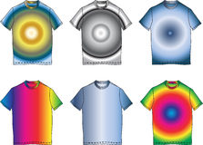 Art und Weise kleidet Farbenshirt-Formabbildung vektor abbildung