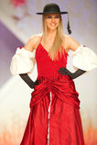 Art und Weisebaumuster trägt die Kleidung, die von Gianni Sapone hergestellt wird Lizenzfreie Stockfotos