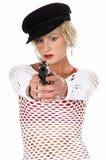 Art- und Weisediva-Gangster Stockbild