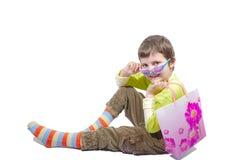 Art und Weiseeinkaufenkind Lizenzfreie Stockbilder