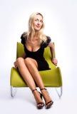 Art und Weiseportrait von schöne Frauen Lizenzfreie Stockbilder