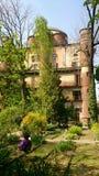 Art university garden milan royalty free stock photos