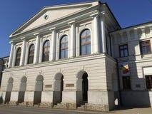 Art university and philharmony in Iasi, Romania Royalty Free Stock Photos