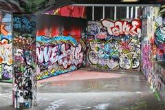 Art urbain à Londres Images stock