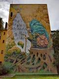 Art urbain à Oslo Photos libres de droits