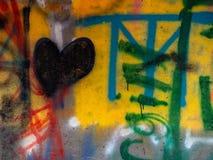 Art urbain énervé II de Graffitti photographie stock libre de droits