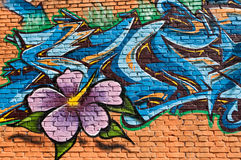 Art urbain photo stock