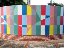Art urbain Couloir cinétique Photo stock