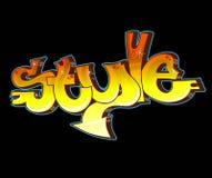 Art urbain de graffiti illustration de vecteur