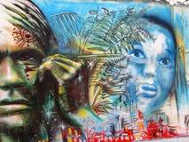 Art urbain hommes Photo stock
