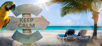 Art vacation on the sea, background Royalty Free Stock Image