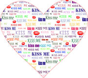 Art valentine heart Royalty Free Stock Images
