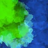 Art. van de de mengelings het abstracte textuur van de indrukwaterverf Artistieke heldere bacground royalty-vrije illustratie