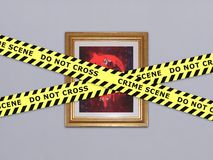 Art Vandalism Royalty Free Stock Images