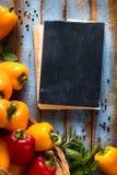 Art Vegetables on wood Stock Photos