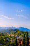 Art village landscape in Provence Royalty Free Stock Photo
