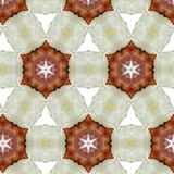 Art vintage ethnic blurred watercolor floral pattern Royalty Free Stock Photos