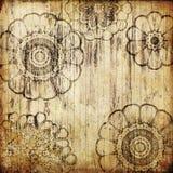Art vintage floral background. Art grunge vintage floral background Royalty Free Stock Photo