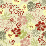 Art vintage floral background Stock Image