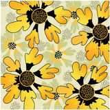 Art vintage floral background Royalty Free Stock Photography