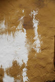 Art wall texture for background in brown with white colors Stock Photography