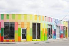 Art Walls in Wynwood Miami FL royalty-vrije stock foto