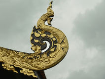 The Art at Wat Inthakin Royalty Free Stock Images