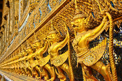 Art at Wat Phra Si Rattana Satsadaram Stock Photography