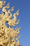 The Art at Wat Rong Khun Royalty Free Stock Photography