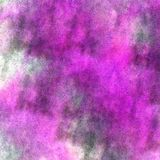 Art watercolor ink paint blob watercolour splash. Green, purple colorful stain on white background texture royalty free stock photography