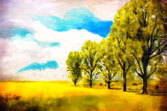 Art watercolor paint Stock Photos