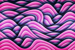 Art Waves Background Design abstrait unique Image stock