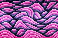 Art Waves Background Design abstrait unique Illustration Libre de Droits