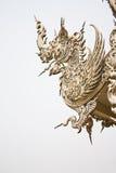 Art of white na-ga Royalty Free Stock Photo