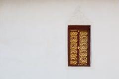 Art Window tailandês Imagens de Stock Royalty Free