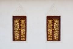 Art Window tailandês Imagem de Stock Royalty Free