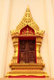 The art in window temple. The art in window of Thailand temple stock images