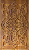 Art of wood carving. Traditional art of wood carving. Details threads Royalty Free Stock Photo