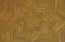 The art of wood parquet  ceiling in the temple. The art of wood parquet  ceiling in the temple in Thailand Royalty Free Stock Photos