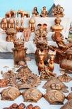 Art work , Indian handicrafts fair at Kolkata Stock Photo