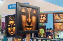 Art work , Indian handicrafts fair at Kolkata Royalty Free Stock Photo