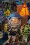 Art work , Indian handicrafts fair at Kolkata Stock Images