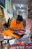 Art work , Indian handicrafts fair at Kolkata Stock Photography